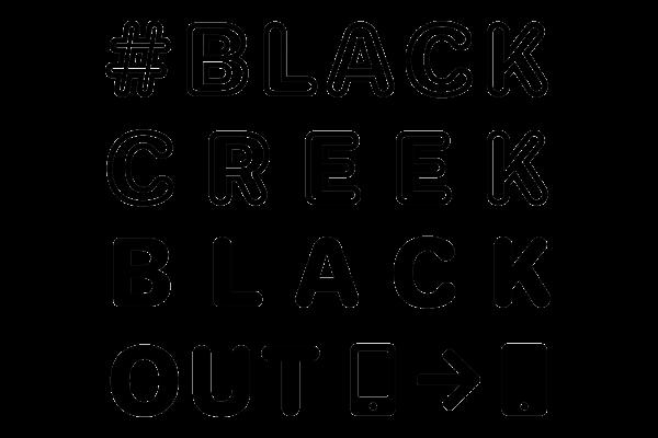 #blackcreekblackout