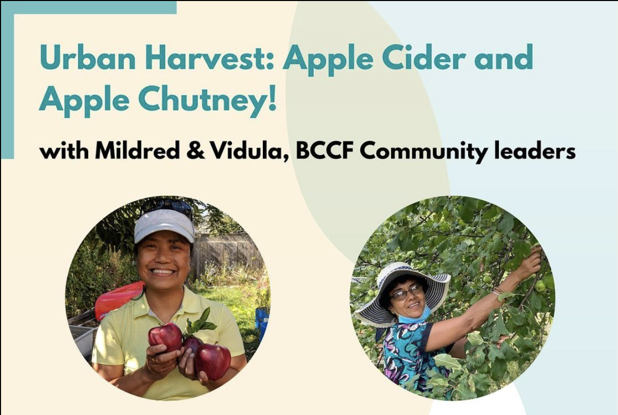 Apple Cider and Apple Chutney with Mildred and Vidula