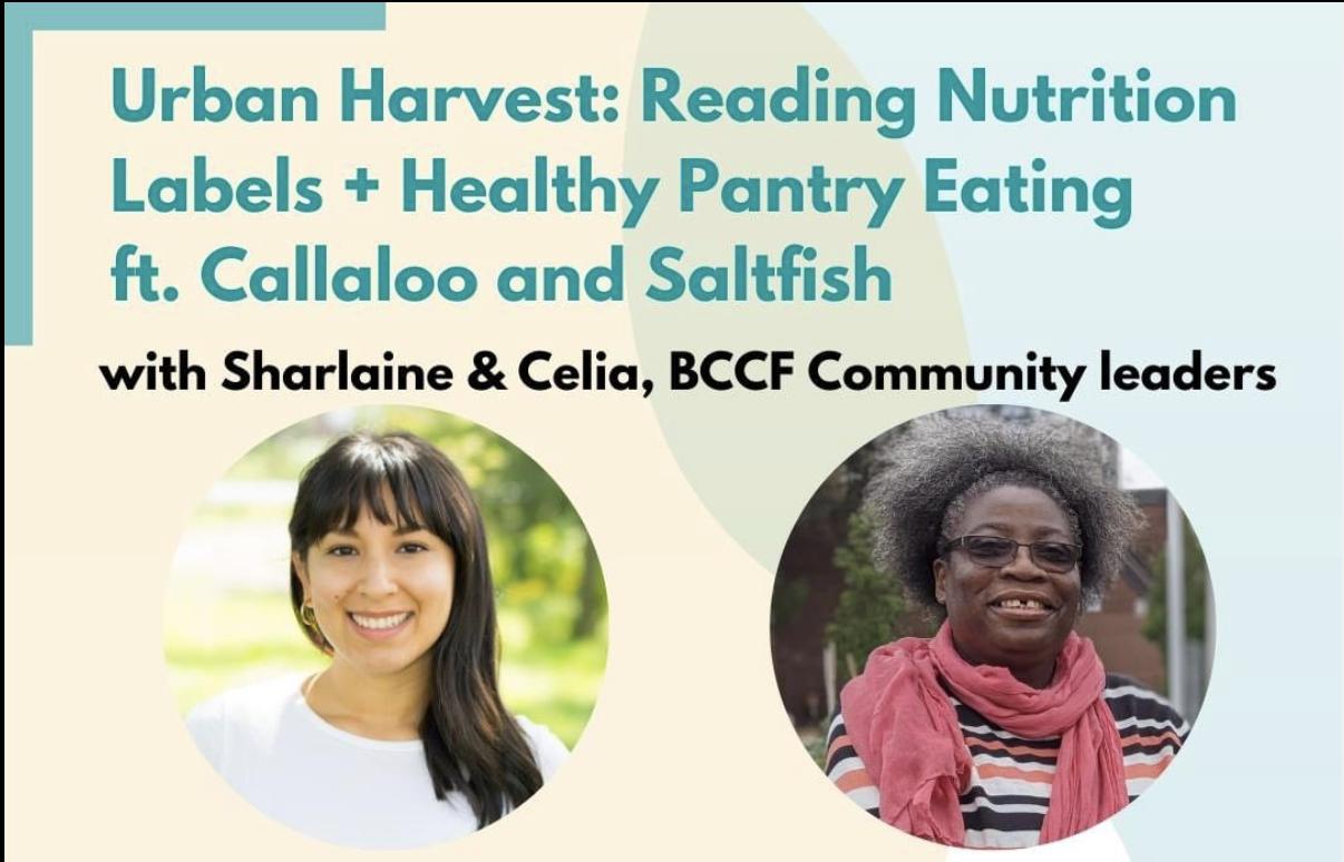 Sharlaine & Celia Urban Harvest workshop - headshots